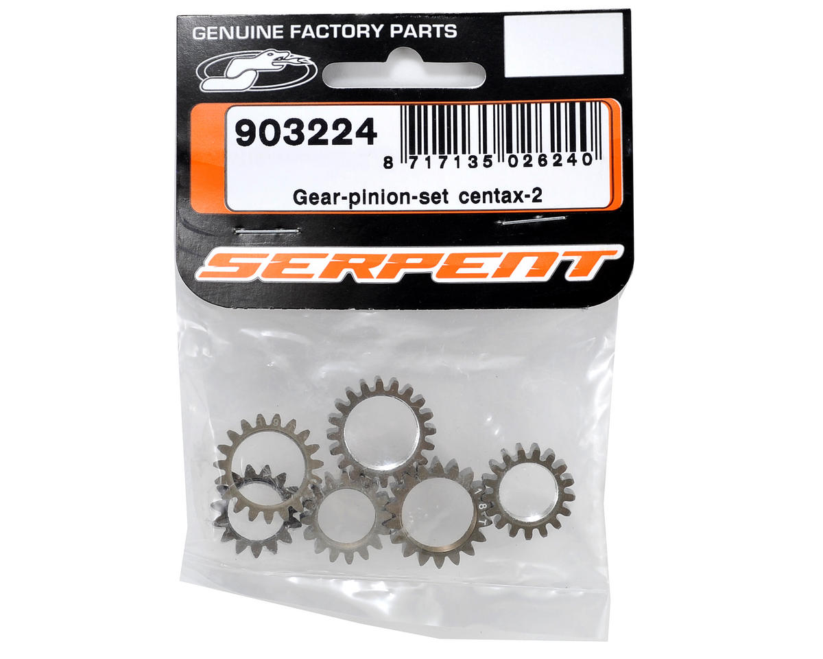 Serpent Centax 2 Pinion Gear Set (6)