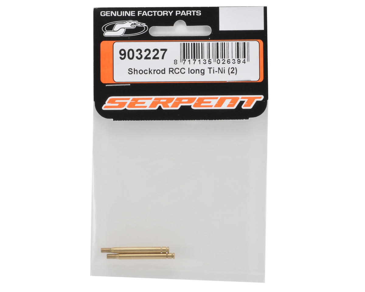 Serpent Long RCC Ti-Nitride Shock Shaft Set (2)