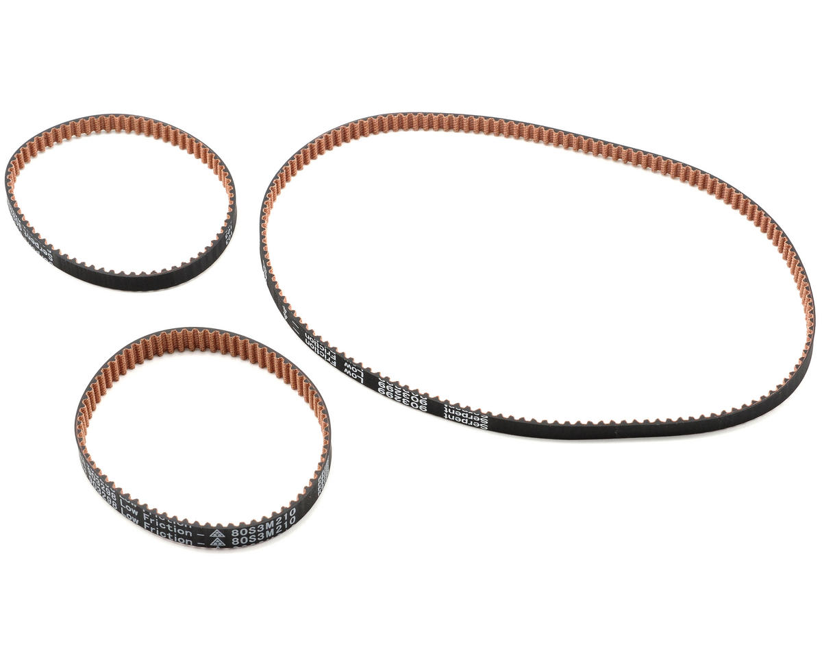 Serpent Low Friction Belt Set (3)