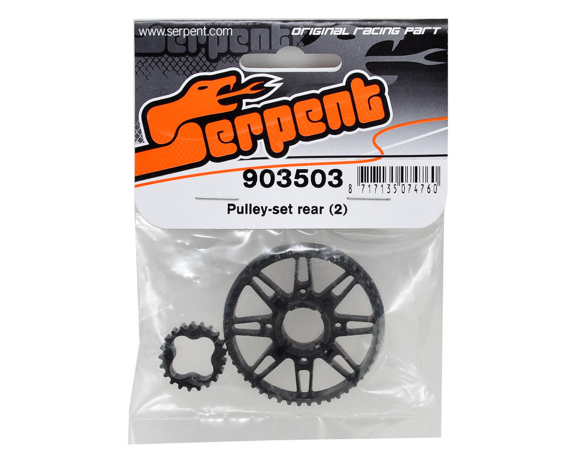 Rear Pulley Set (2) by Serpent