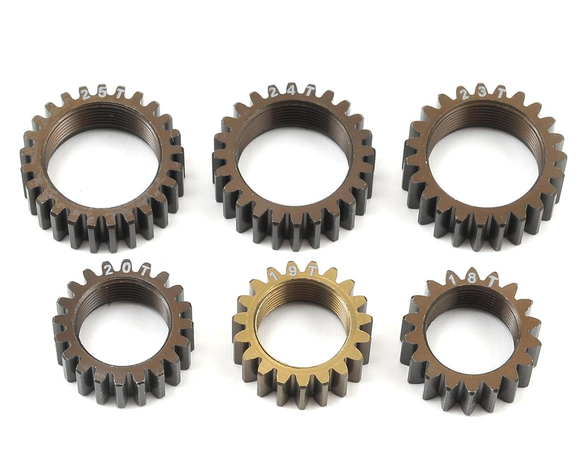 Serpent 811GT Aluminum 2 Speed Centax Pinion Gear Set (6)