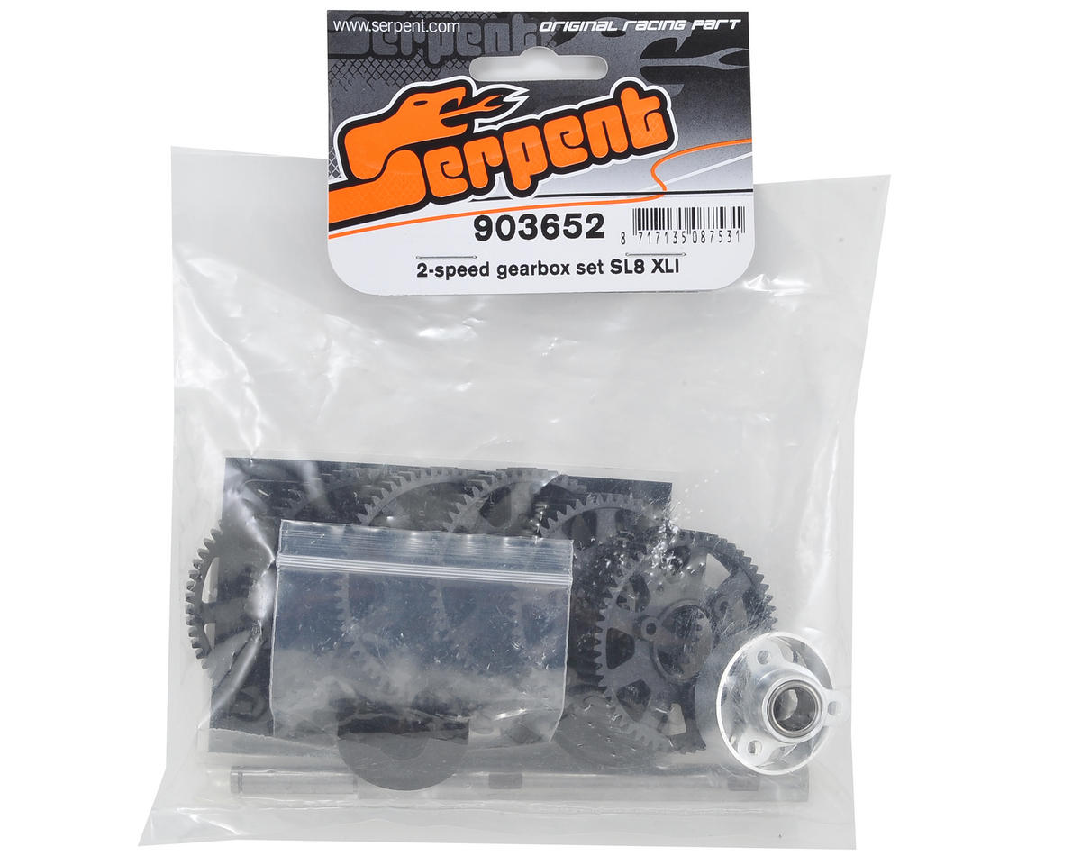Serpent 977 SL8 XLI 2-Speed Gearbox Set