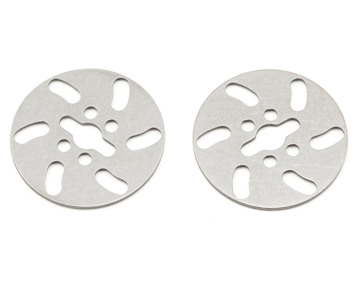 Serpent Ventilated Steel Brake Disk Set (2)