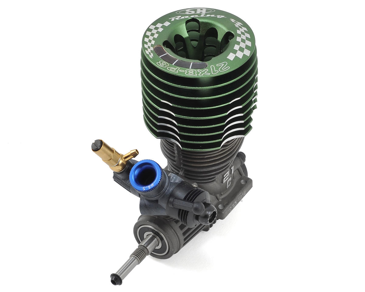 PT003 Pro .21 8 Port Buggy Engine (Turbo Plug) by SH Engines