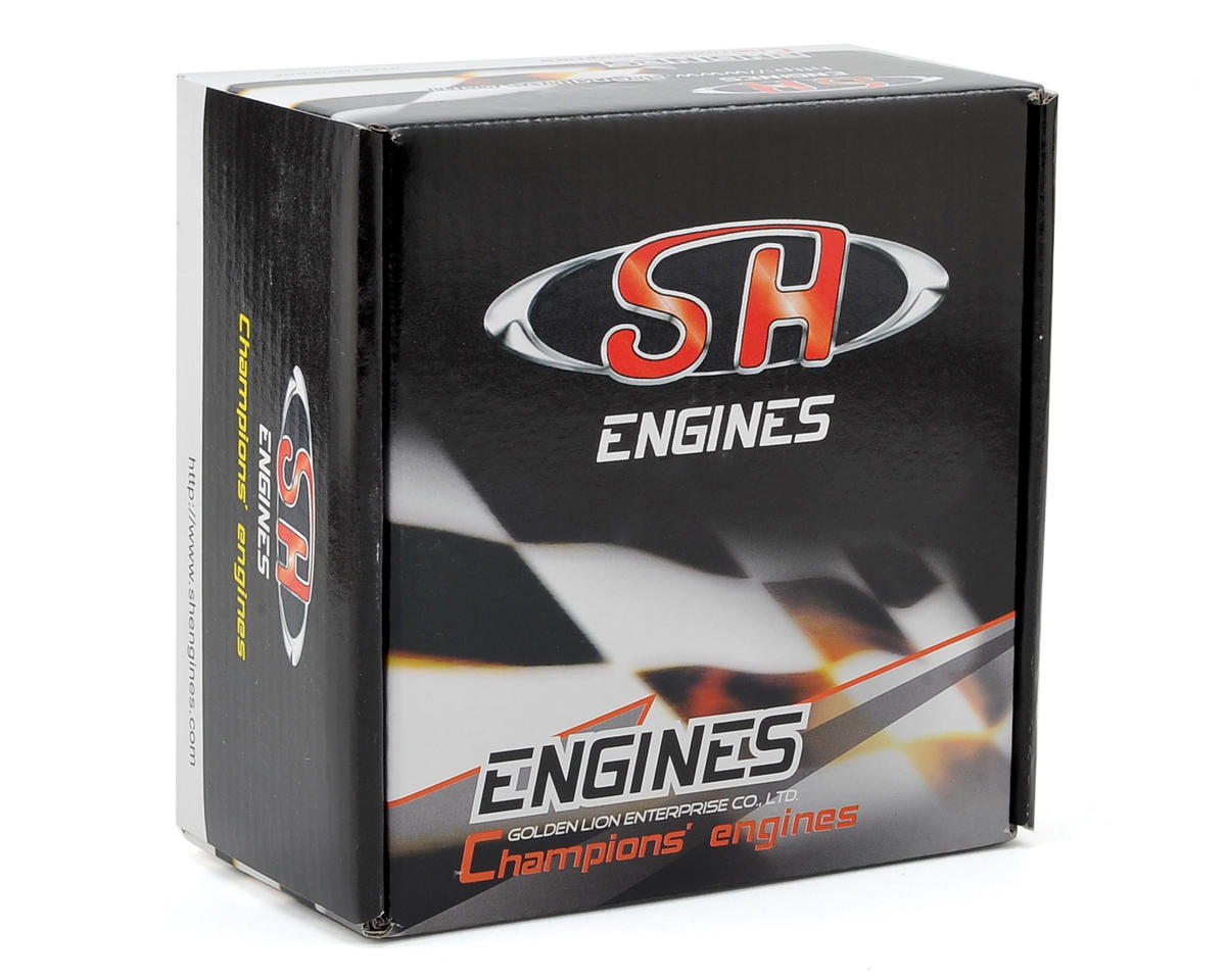 SH Engines PT28XM1-P8 .28 Pro Rear Exhaust 8 Port Engine