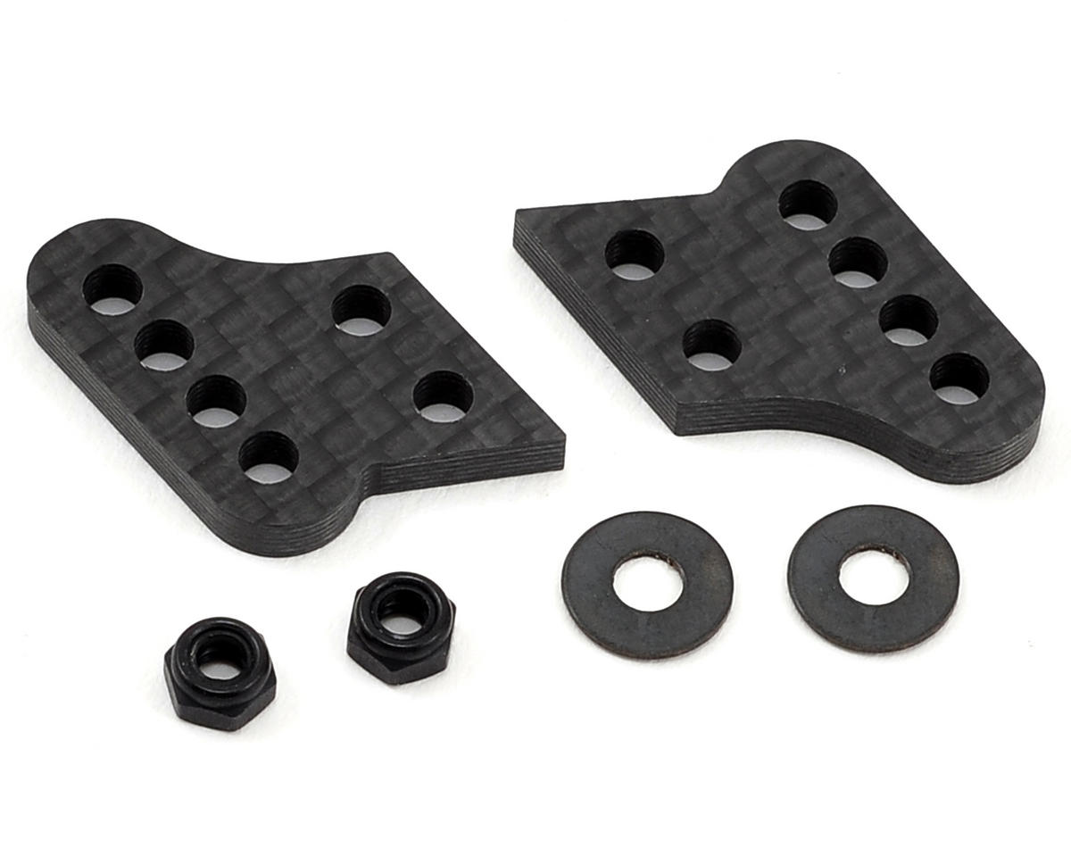"Carbon ""D"" Hub Tower Set by Schelle Racing"
