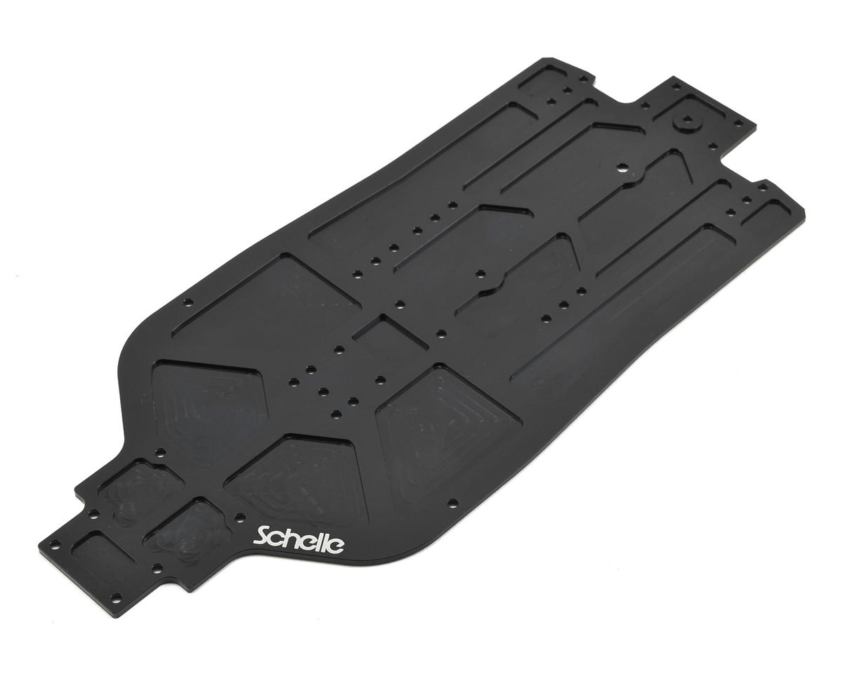 Schelle Racing D413 Stretch Aluminum Chasis Plate