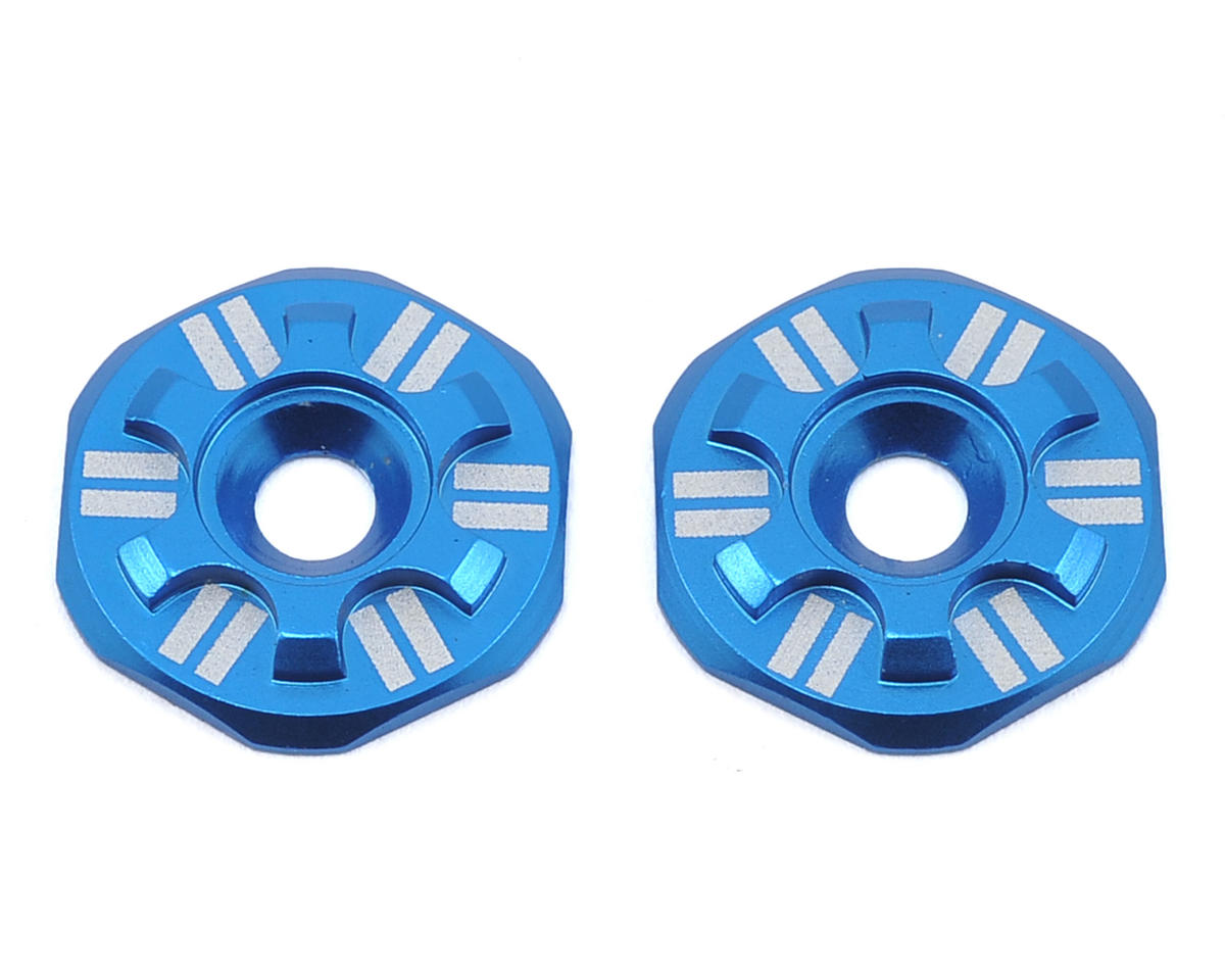 Schelle Racing Asterisk Wing Buttons (Blue) (Schumacher CAT K2)