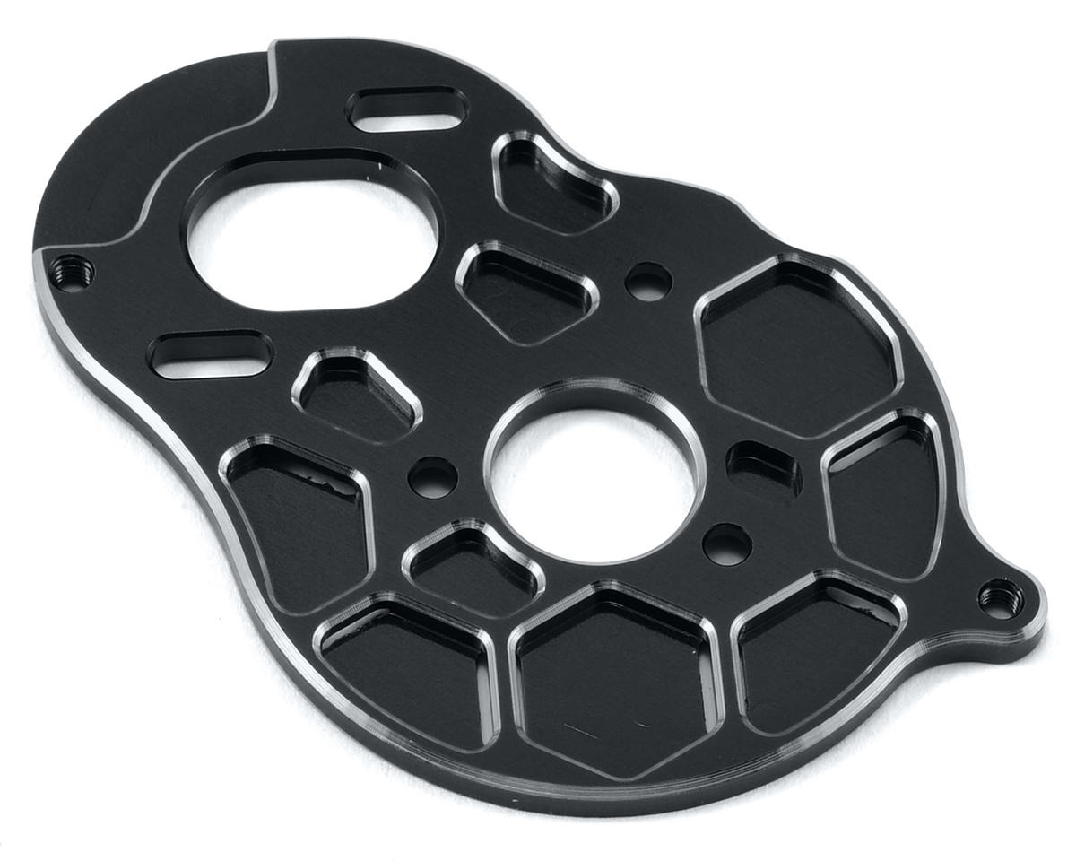 "B5M ""4 Gear"" Vented Motor Plate (Black) by Schelle Racing"