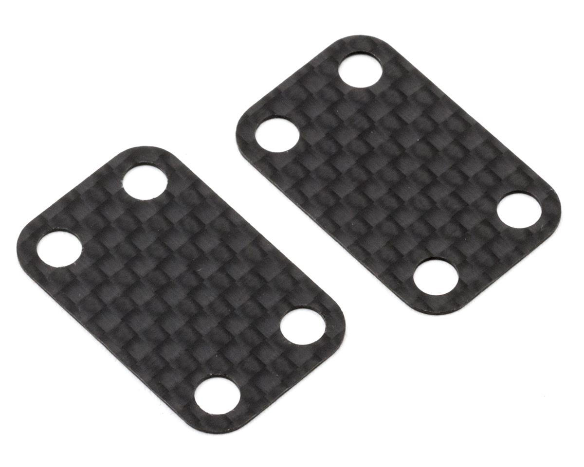 B6/B6D 0.5mm Carbon Fiber Bulkhead Shims (2) by Schelle Racing