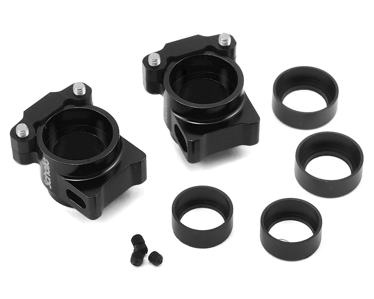 Schelle Racing Aluminum B64/B64D Rear Hub Set (Black)
