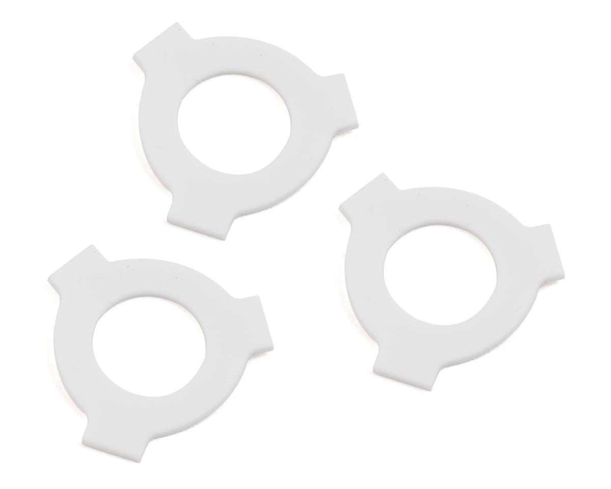 Schelle Racing Nova Slipper Pad Set (White) (Team Associated SC10)