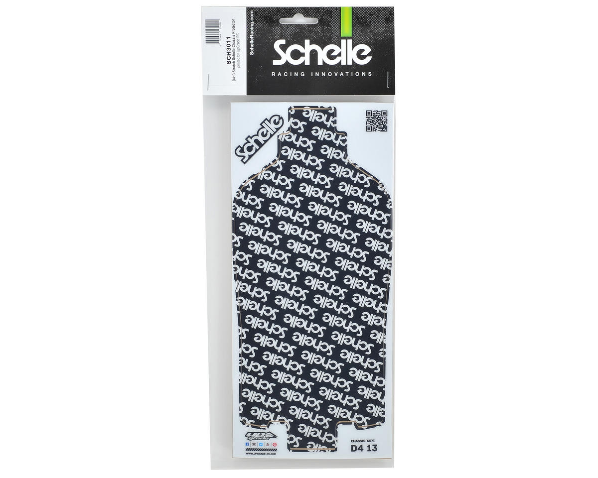 Schelle Racing D413 Stretch Precut Chassis Protective Sheet
