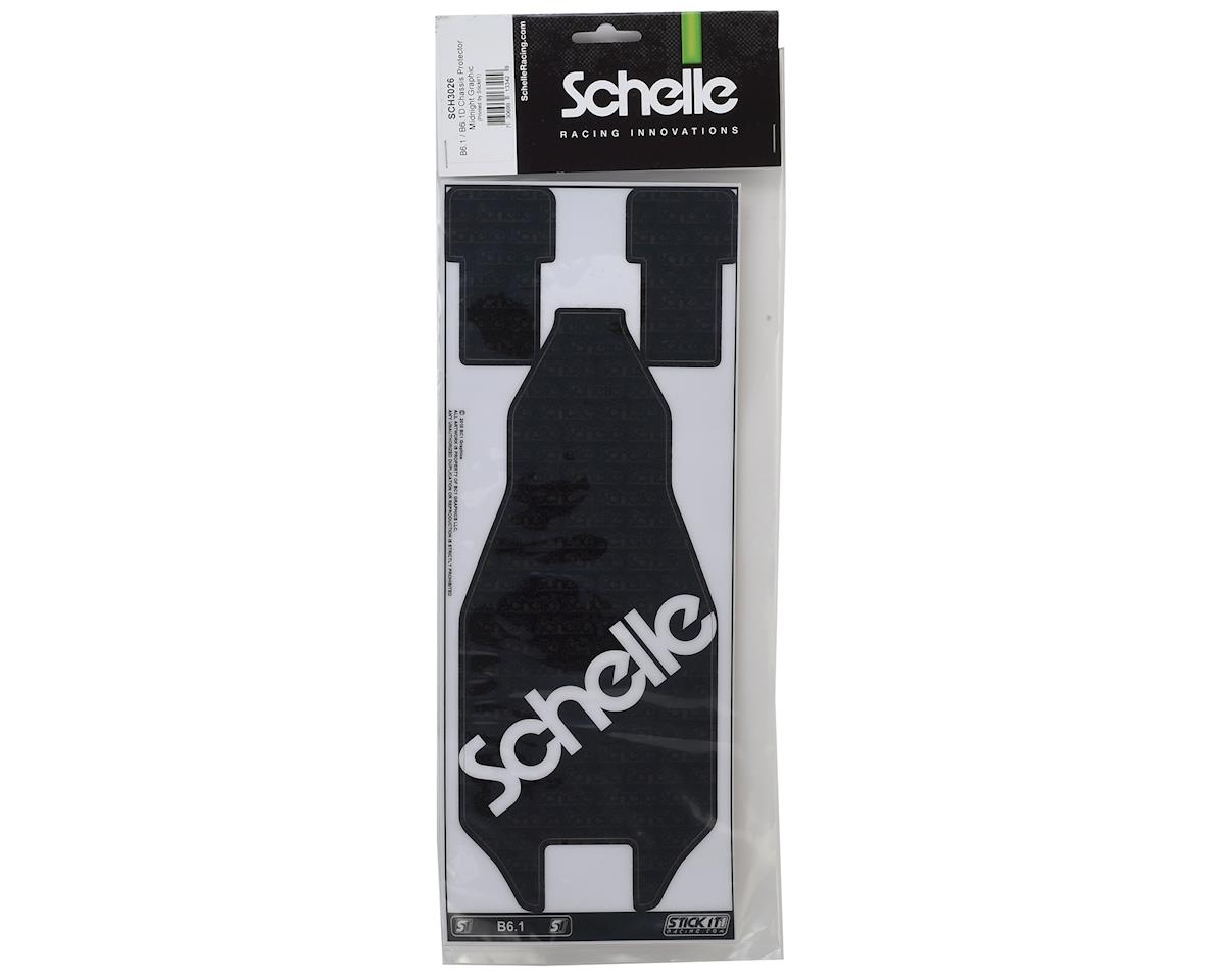 Schelle Racing B6.1/B6.1D Midnight Precut Chassis Protective Sheet