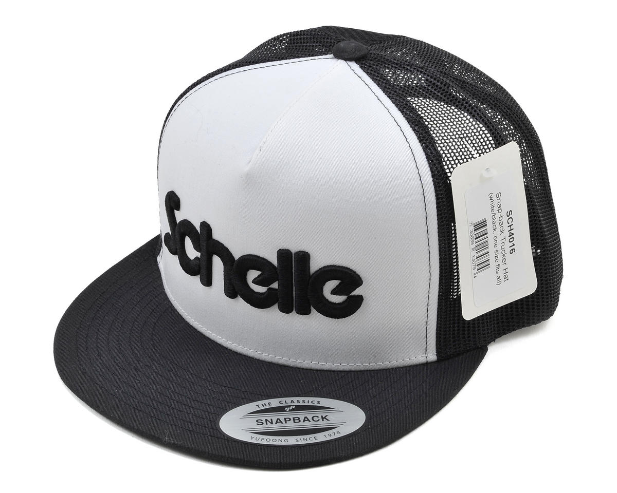 Schelle Racing Snap-Back Trucker Hat