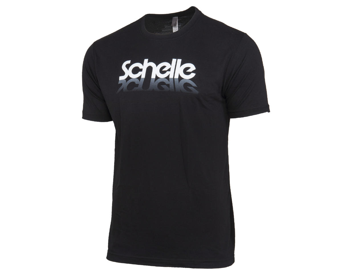 Schelle Racing Reflection Black T-Shirt (L)