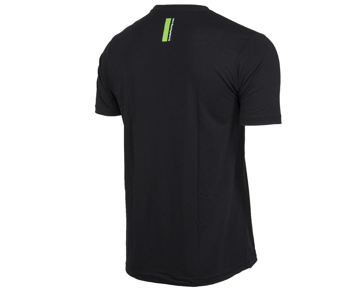Reflection Black T-Shirt (L) by Schelle Racing