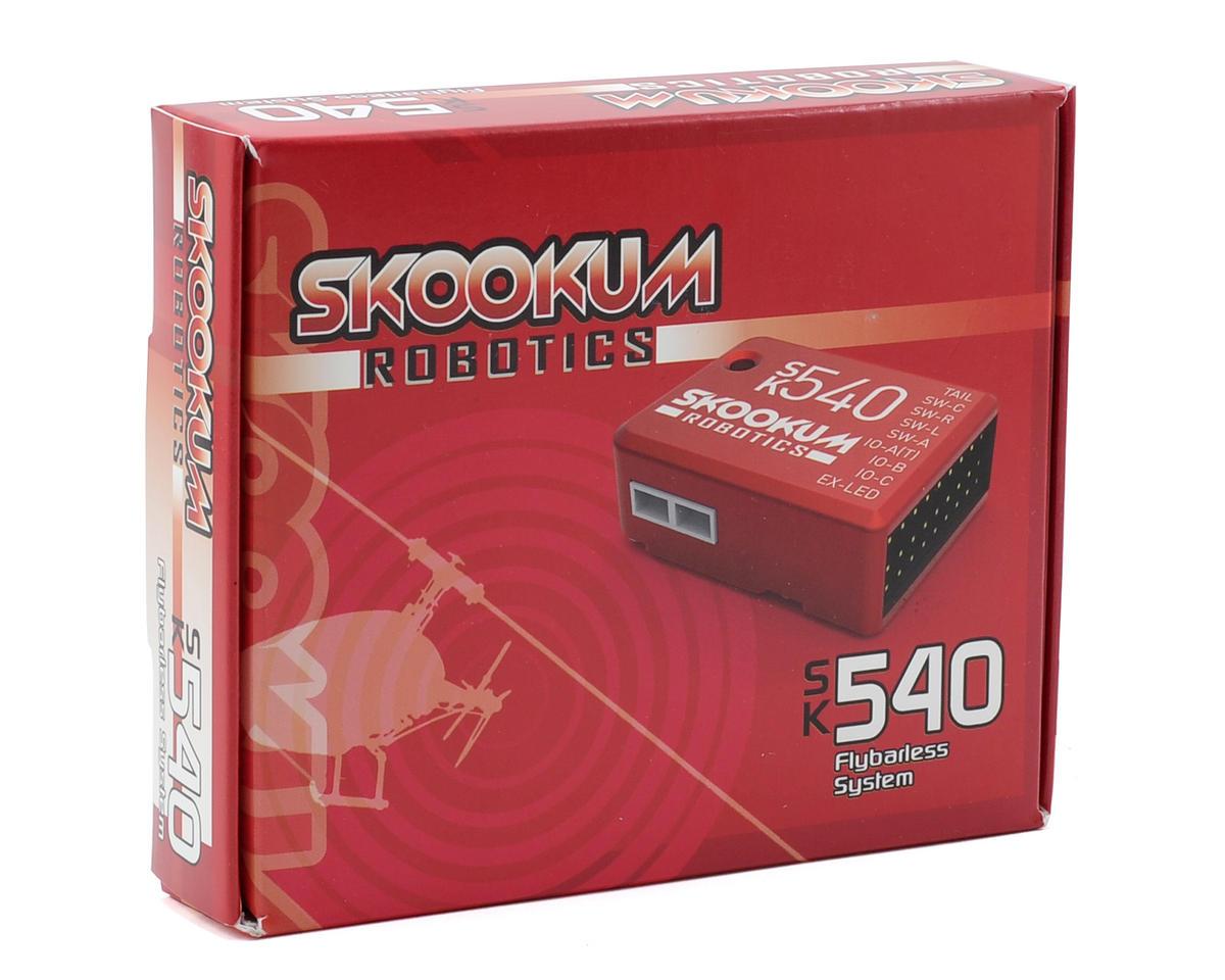 Skookum Robotics SK 540 3-Axis Flybarless System