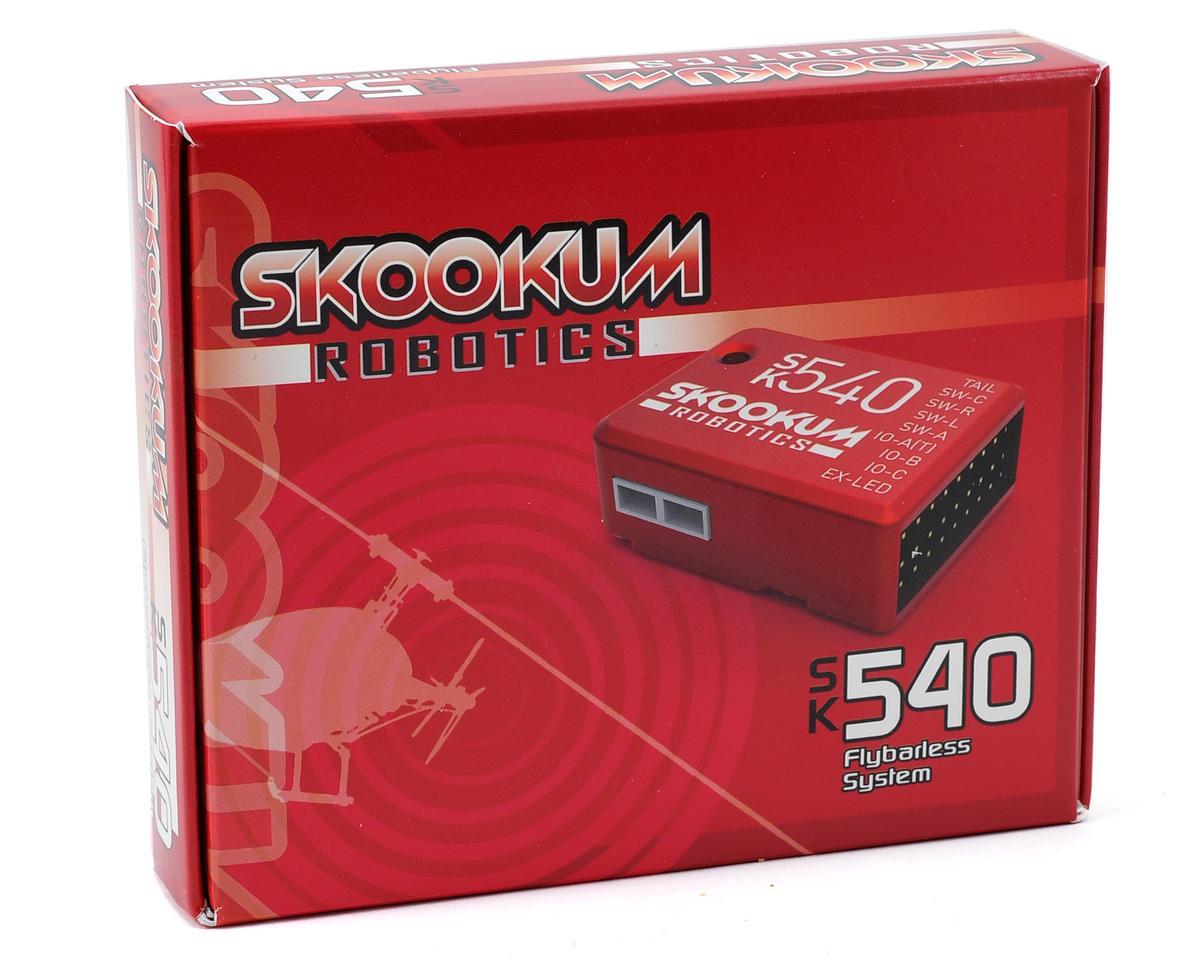 Skookum Robotics SK 540 Clear 3-Axis Flybarless System