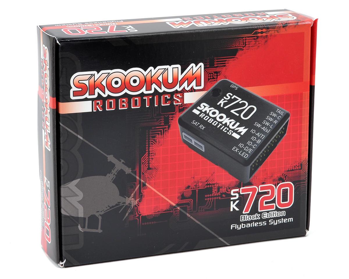 Skookum Robotics SK720 Black Edition 6 Axis Flybarless System