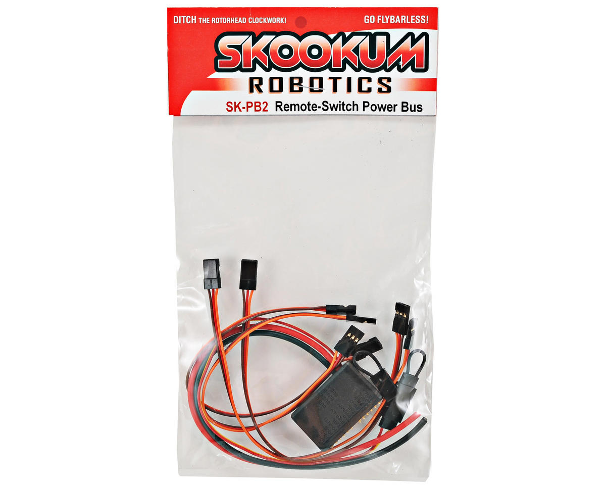 Skookum Robotics Soft-Switch Power Bus