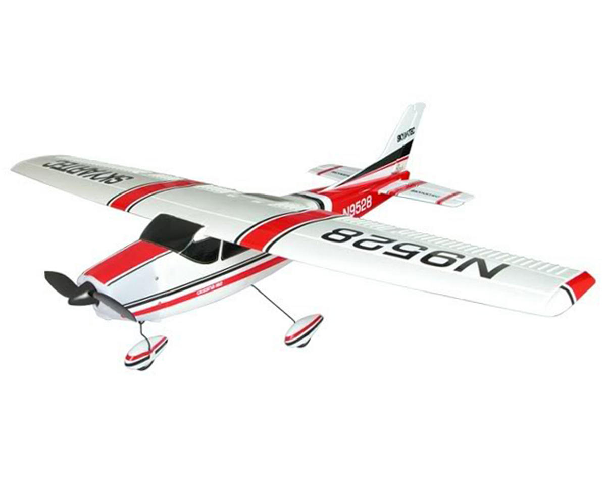 Skyartec Cessna 182 Brushless RTF Airplane (Red)