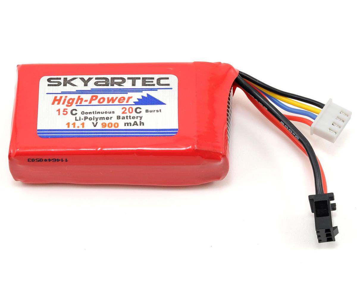 Skyartec 3s Li Poly Battery 15c 11 1v 900mah Wasp V4