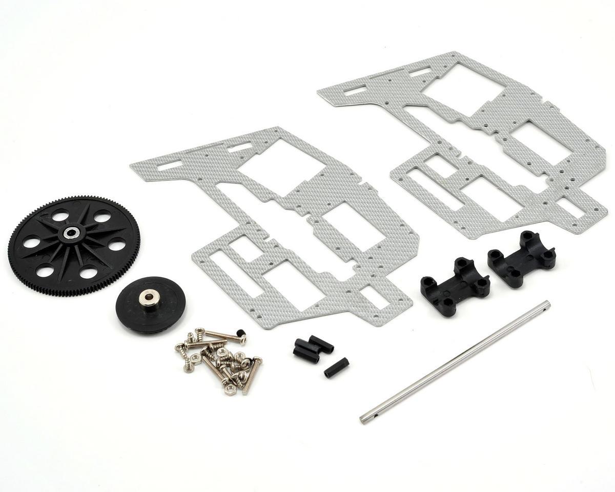 Skyartec Frame Set w/Tail Boom Block, Main Shaft, Main & Tail Gears