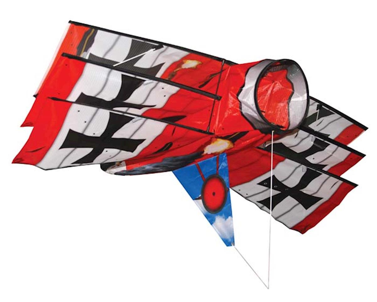 "10001 Battle Baron Tri-Plane 3D Airplane 40"" by Skydog Kites"