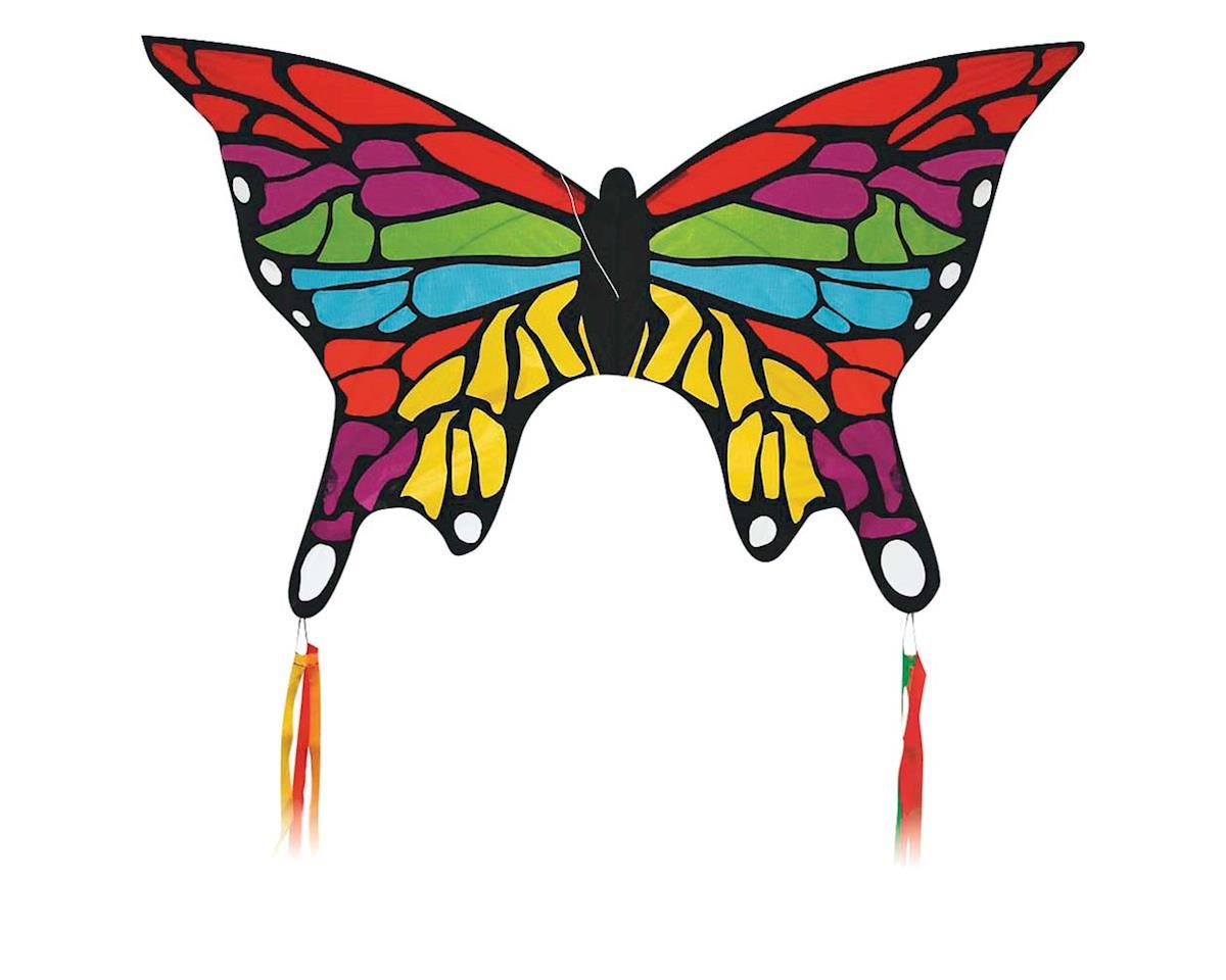 "Skydog Kites 10041 Rainbow Butterfly 47""x30"" Ripstop Nylon"