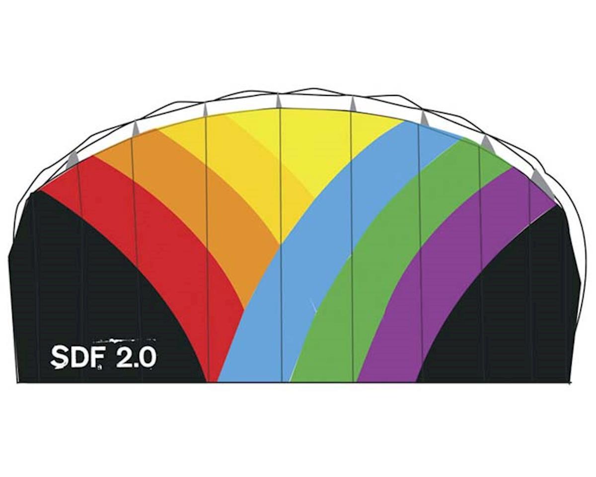 "Skydog Kites 22520 SDF-2.0 Dual Line Foil 30x77"""