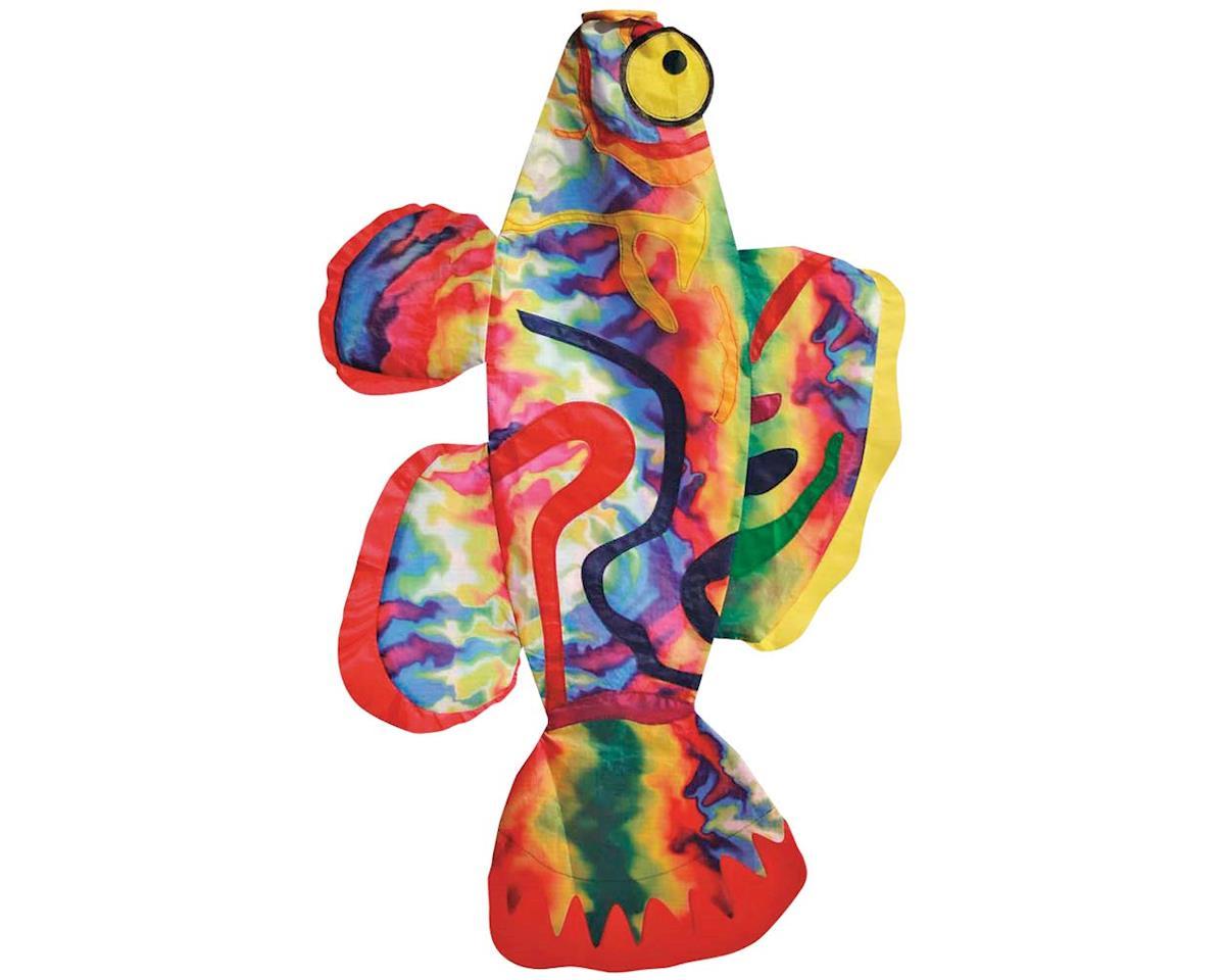 "Skydog Kites 42707 Tie Dye Fish Windsock 36"""
