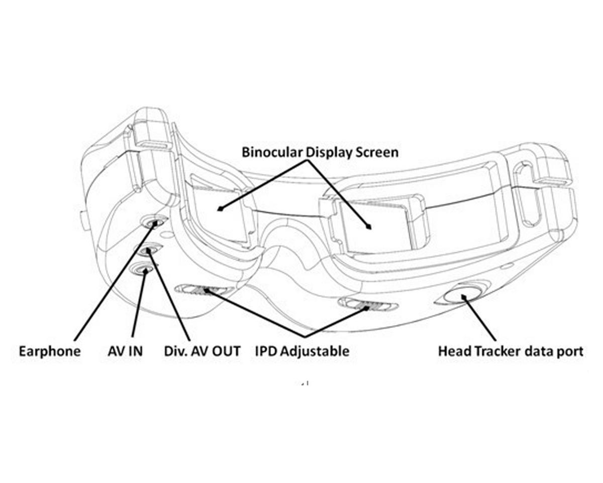 SkyZone V2 Wireless FPV Multi-Function Goggles