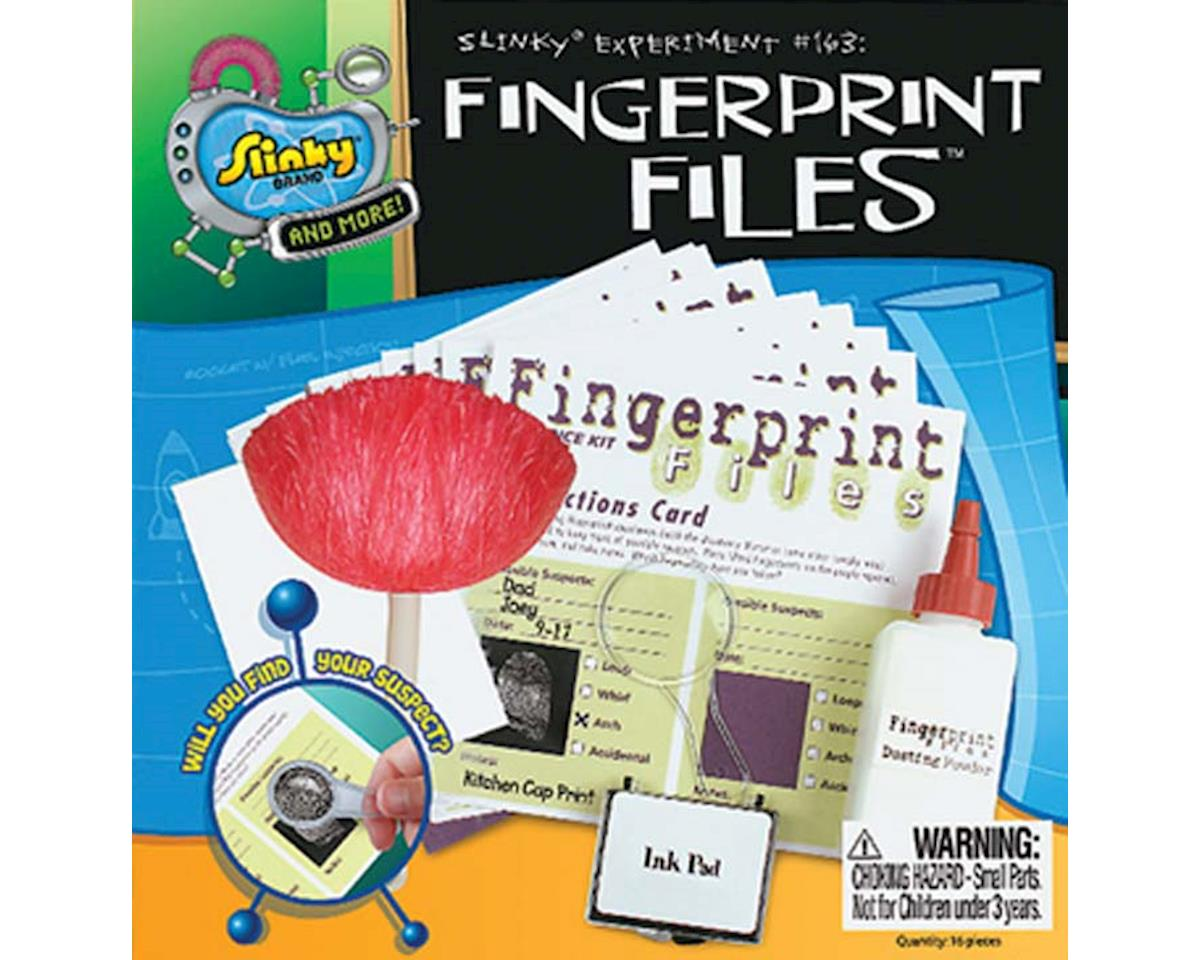 Slinky Science  Funlabs Fingerprint Files Kit