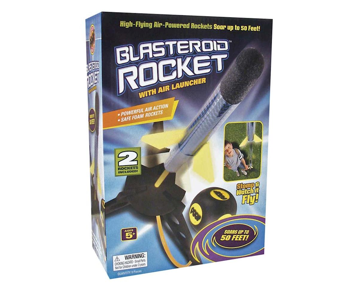 Slinky Science 2143 Poof Blasteroid Rocket w/Launcher