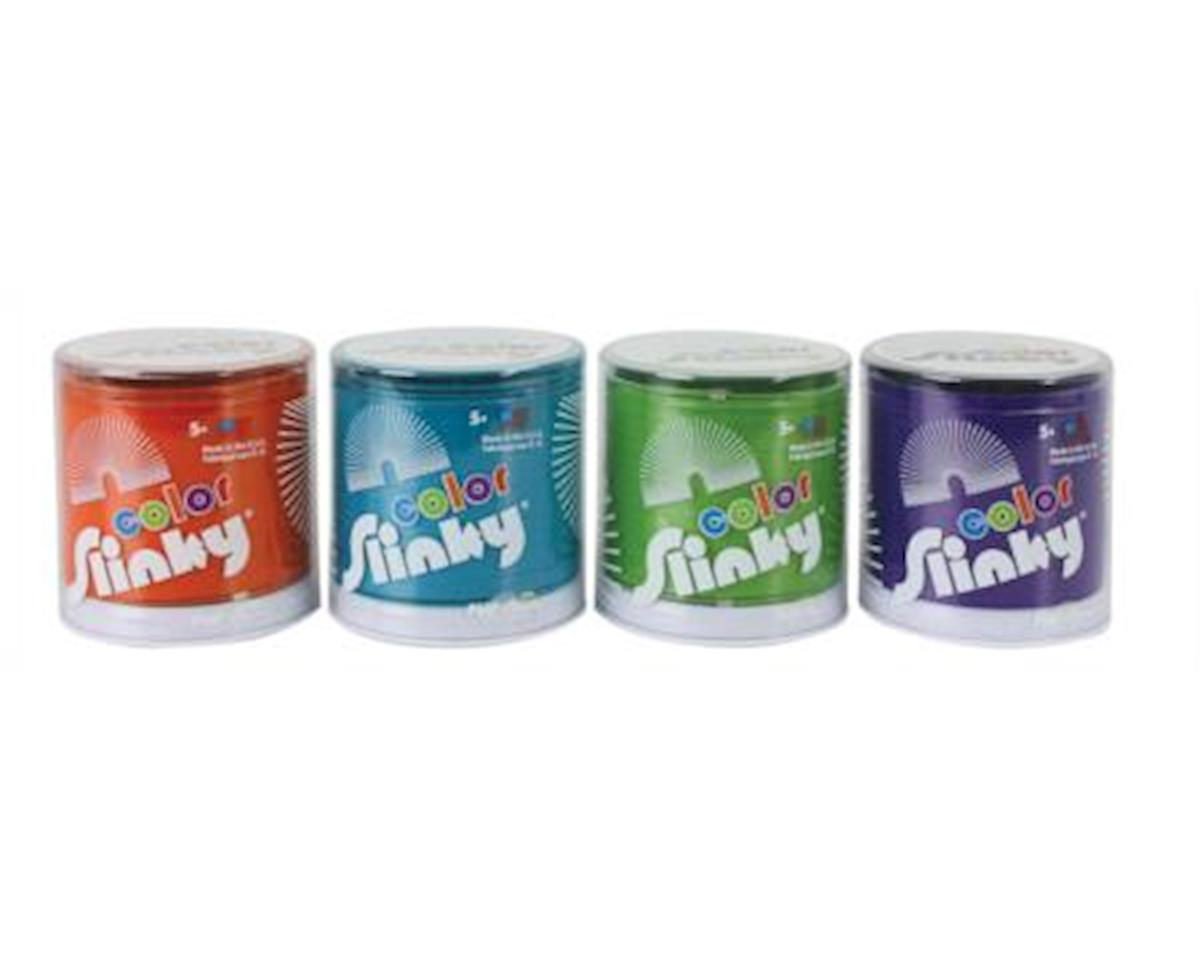 Slinky Science Slinky 8-111BL Colored Metal Original Slinky Assorted Colors (Sold Separately)