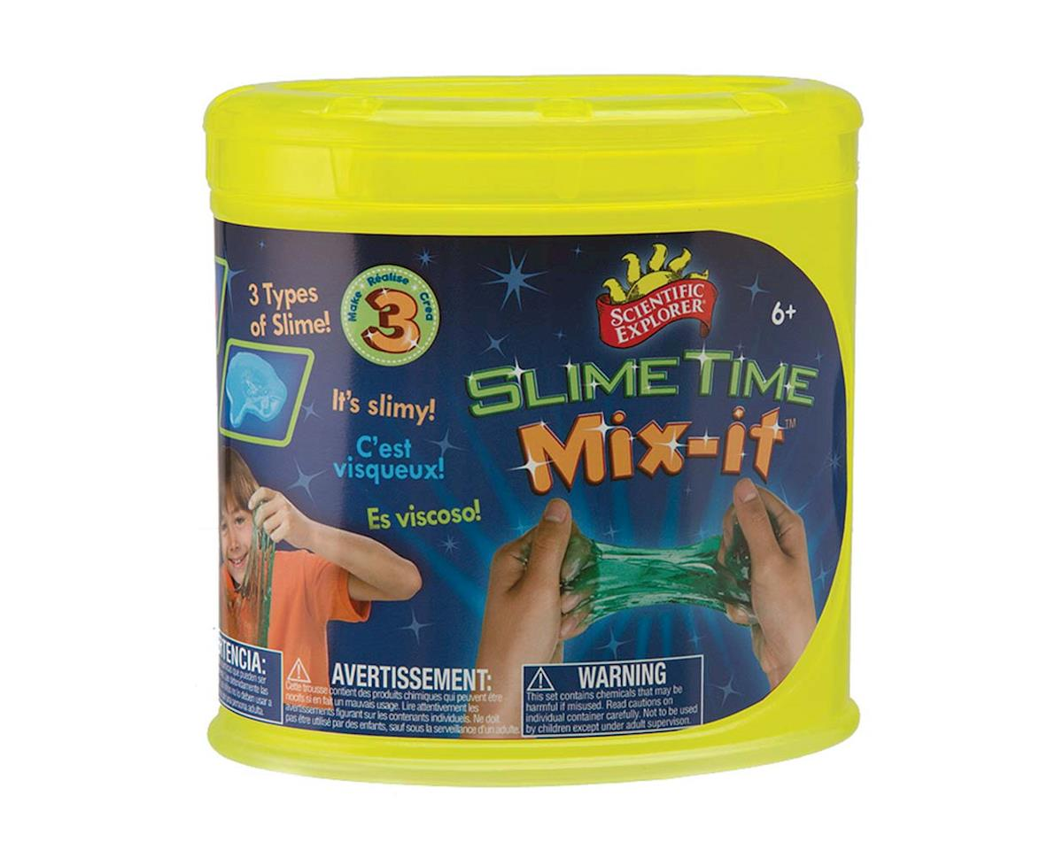 OA952TL Scientific Explorer Slime Time Mix-It by Slinky Science
