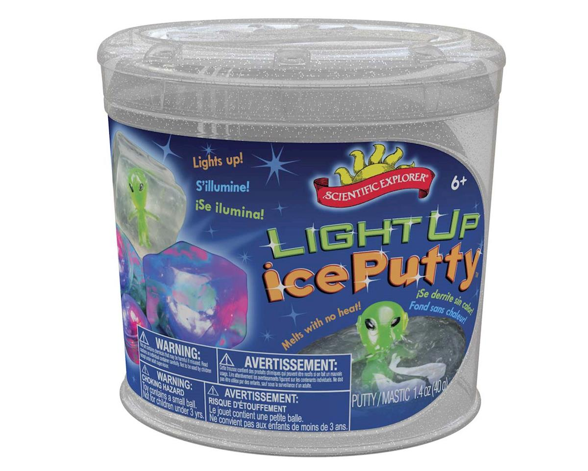 Slinky Science OSA310TL Scientific Explorer Light Up Ice Putty