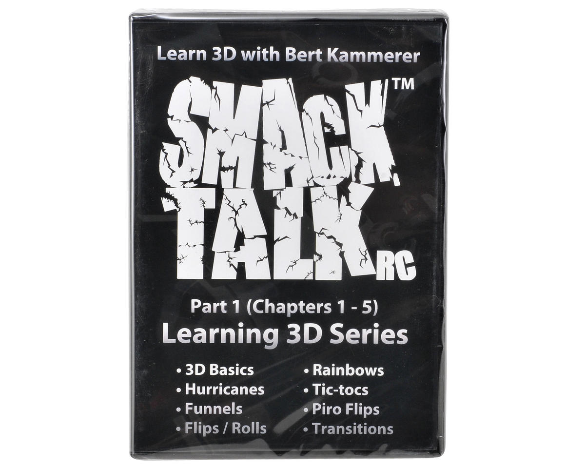 "SmackTalk RC �Learning 3D with Bert Kammerer Part 1"" DVD"