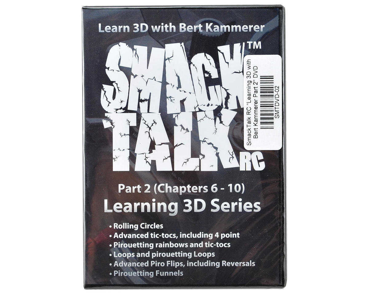 "SmackTalk RC ""Learning 3D with Bert Kammerer Part 2"" DVD"