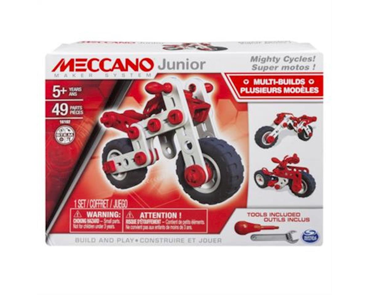 Meccano Junior Motorcycle by Spinmaster Toys
