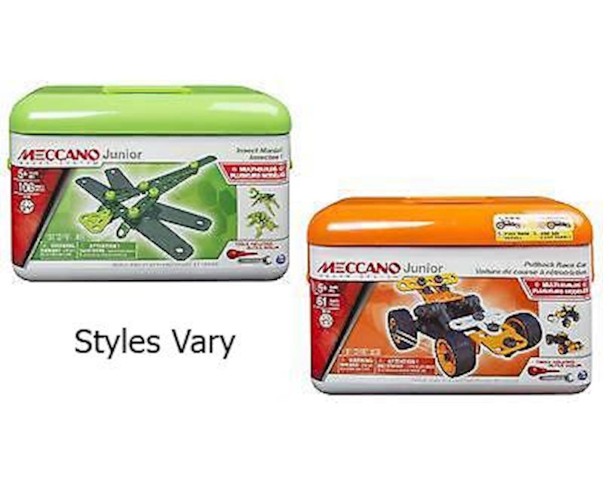 Meccano Junior Toolbox, 5 Model Set Assortment