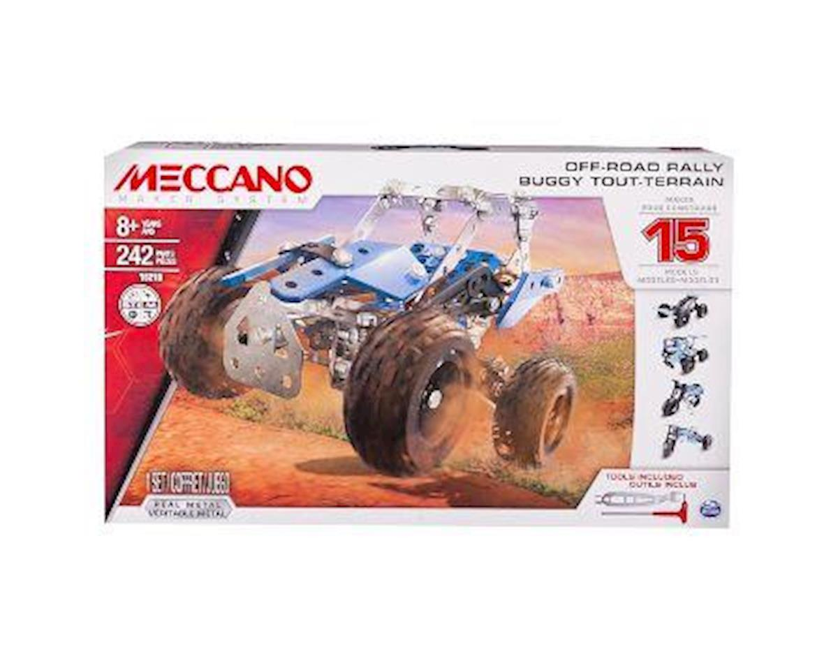 Meccano - 15 Models Set - Off-Road Rally