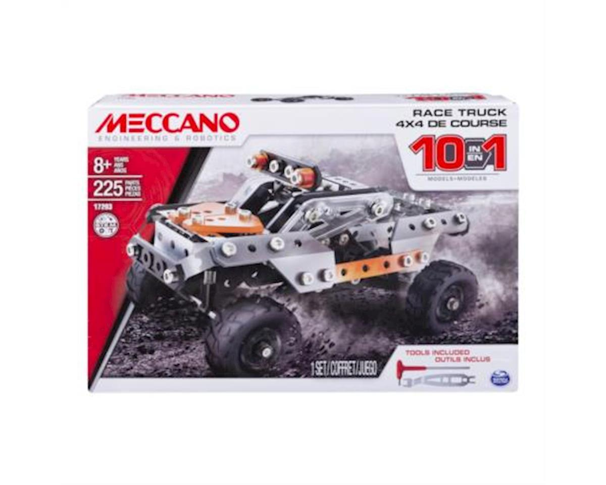 Meccano - 10-in-1 Model - Race Truck