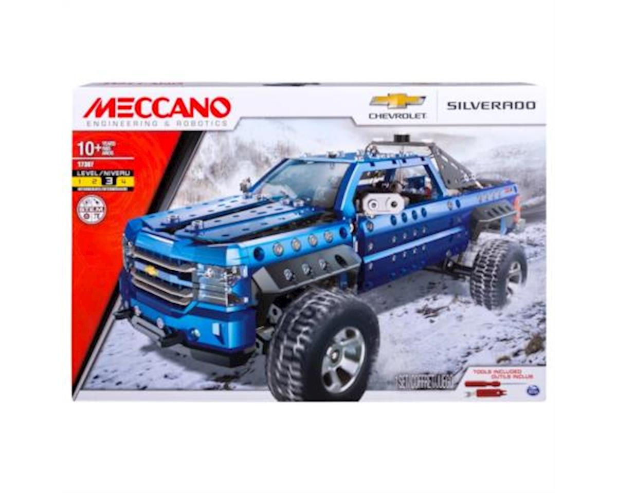 Meccano Erector – Chevrolet Silverado Pickup Truck Building Set