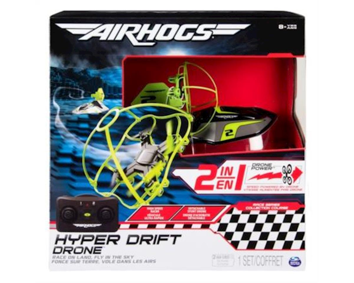 Spinmaster Toys Air Hogs Hyper Drift Drone (Colors May Vary)