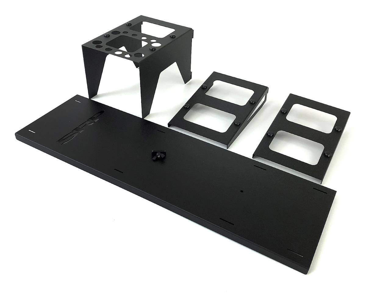 Schaffner Racing Products Three Tier 1/10 & 1/8 Scale Car Stand (Black)