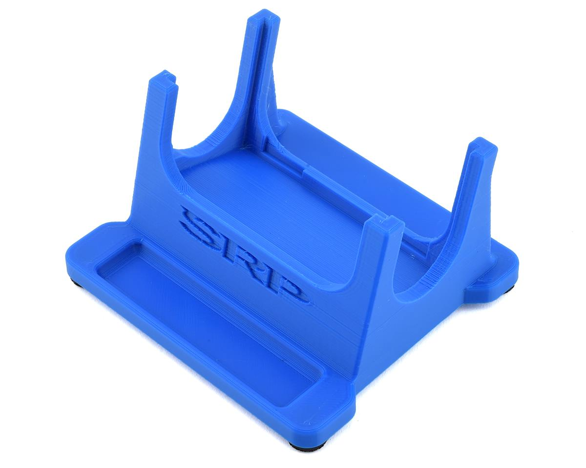 Schaffner Racing Products Junsi X6 Printed 1 Piece Charger Stand (Blue)
