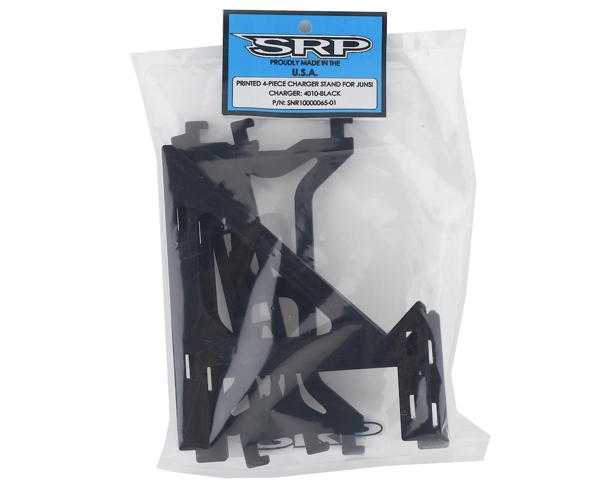 Schaffner Racing Products Junsi 4010DUO Printed 4 Piece Charger Stand (Black)