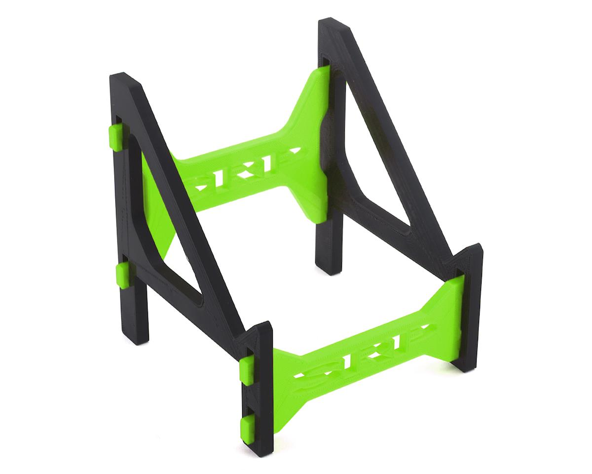 Schaffner Racing Products Junsi 308/406 Duo V2 Charger Stand (Black/Green)